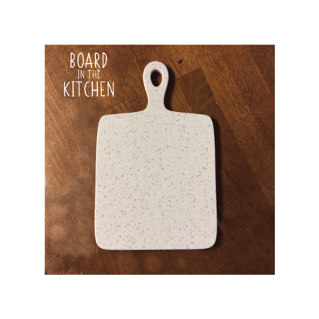 CORIAN Cutting Board with Handle, Classic Look and Style, Style #1