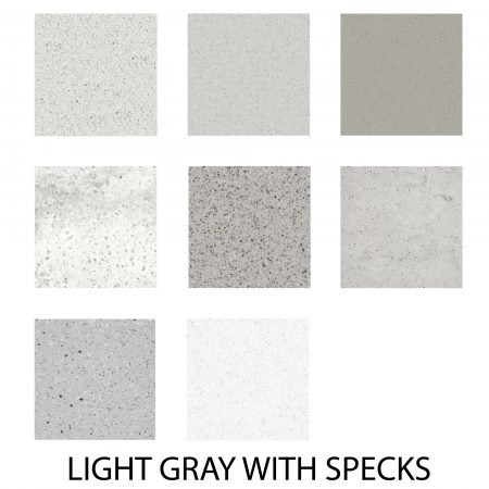 Light Grey with Specks Color Pallet