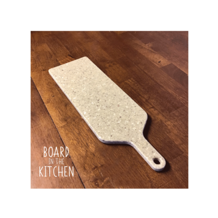 Cutting Board with Handle, Great Bread Board