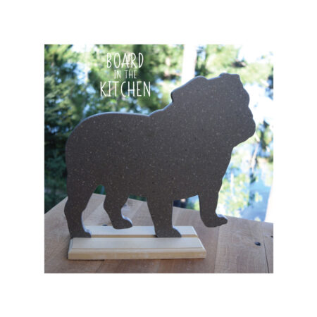 Bulldog Cutting Board Dog Owner Gift