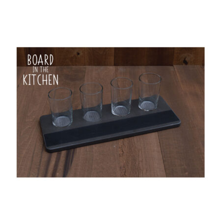 Fun and Easy BEER FLIGHT BOARD with Chalkboard Strip - Style 31