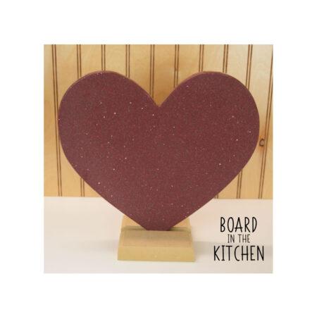 HEART Cutting Board, Solid Surface Cutting Board