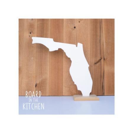 FLORIDA Cutting Board, Safe Corian Cutting Board, The Sunshine State