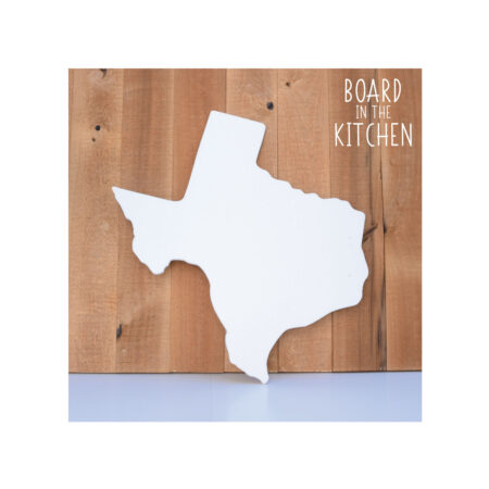 TEXAS Cutting Board, Safe Corian Cutting Board, The Lonestar State