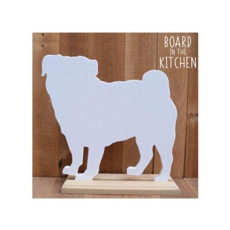 Pug Cutting Board